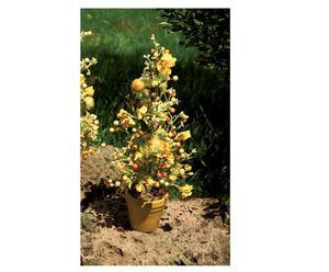 alberello decorativo narcisi - h 59 cm