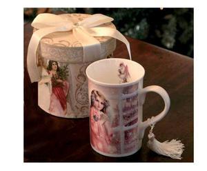 Tazza mug in ceramica ANGEL - 12x11 cm