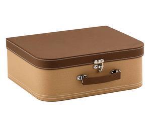 valigia in cartone holiday - 30x11x25 cm