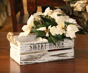 Portavaso rettangolare in legno Sweet Home