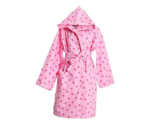 accappatoio in ecofibra DAFNE BABY rosa - 6-8 ANNI