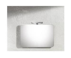 Specchio da parete in vetro HELEN - 90x60 cm