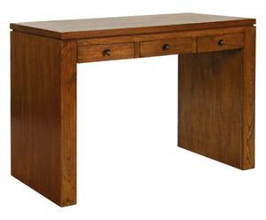 Scrivania a 3 cassetti in legno URBAN - 110x55x81 cm