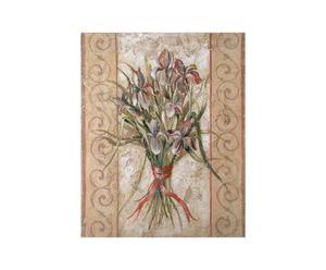 Oleografia su tela Lillies - 36x28 cm