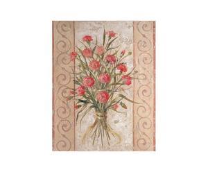 Oleografia su tela Carnations - 36x28 cm