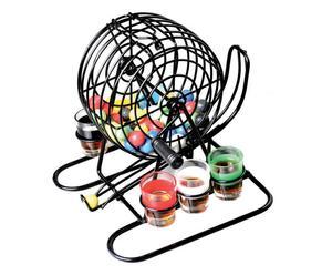 set gioco drinking bingo - 21x20x21 cm