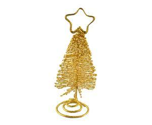 pinetto segnaposto golden glitter - d 4/H 11 cm