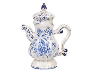 Teiera in ceramica decorata - epoca: '800