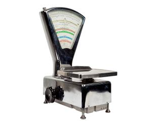 Bilancia da tariffario postale in metalo cromato - Santo Stefano