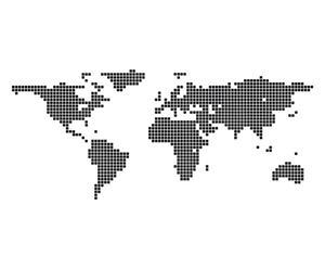 Sticker in vinile Mondo - 140x60 cm