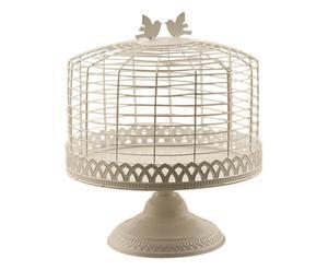 ALZATA in FERRO con campana Birds - 30x25 cm