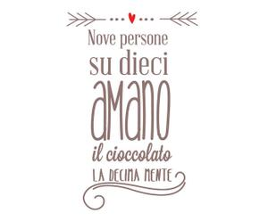 wall sticker cioccolato - 40x60 cm