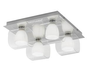 Plafoniera Quadrata Da Esterno Led : Plafoniera quadrata luce per lampade a soffitto dalani e ora