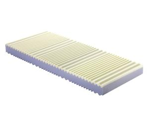 materasso memory sano con rivestimento in lino - 80x190 cm