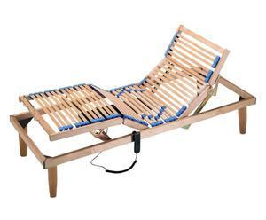 rete a doghe in legno con motore zaffiro - 80x190 cm