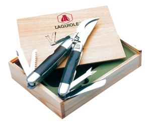 Cesoie con attrezzi multifunzione in metallo - con scatola regalo