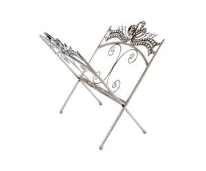 Portariviste in metallo Elegance - 43X36 cm