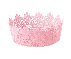 Sottovaso in plastica Delice rosa - 25x9 cm