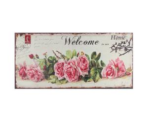 Stampa su tela Welcome - 79x38 cm