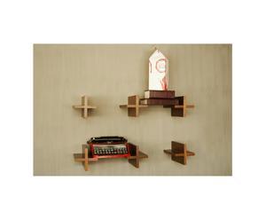 Set di 2 mensole Plus Shelfs - by Elias Kababie