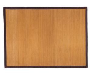tappeto antiscivolo in bamboo zen - 140x200 cm