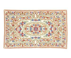 tappeto in puro cotone Chain Stitch Ayoob - 150x90 cm