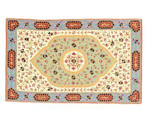 tappeto in puro cotone Chain Stitch Naadir - 150x90 cm