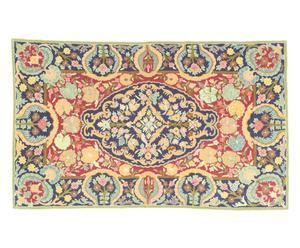 tappeto chain stitch in cotone Agne - 90x150 cm