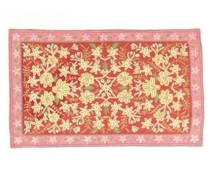 tappeto chain stitch in cotone Allan - 90x150 cm