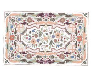 tappeto chain stitch in cotone Erik - 90x150 cm