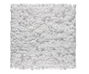 tappeto andros bianco - 60x60 cm