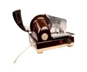 Affettatrice in acciaio e plastica anni '50 Quick Mill - 36x35x28 cm