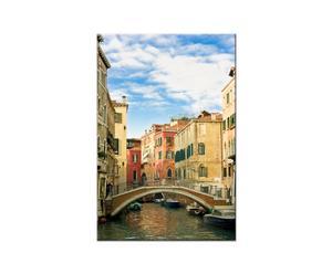 Stampa su tela Venezia Ponte - 40x60 cm