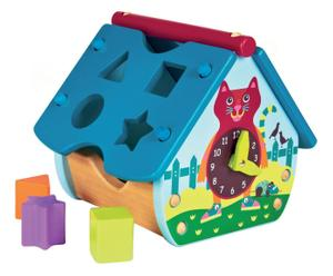casetta multiattivita' gatto gedeone - 24x22x22 cm