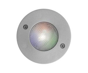 Faretto ad incasso per interni ed esterni AVIANO POWER LED RGB - 8x5 cm