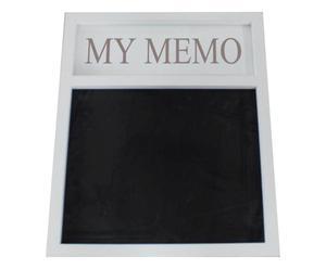 LAVAGNA IN MDF DECAPATO My Memo - 48x2x39 cm