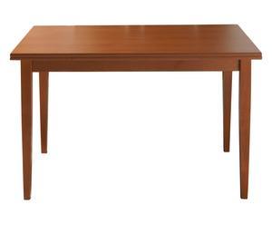 Tavolo allungabile in ciliegio Oslo marrone - 120x80x78 cm