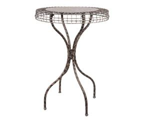 tavolino in ferro adeline - d 52/h 72 cm