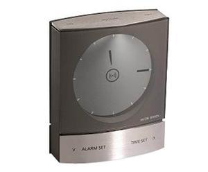 Orologio Sveglia alarm clock antracite - by Jacob Jensen