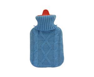 BORSA ACQUA CALDA in gomma con rivestimento in lana Pull - 27x16 cm