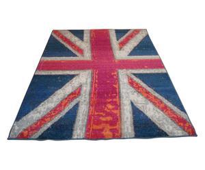 tappeto hypnotic Union Jack rosso - 120x180 cm