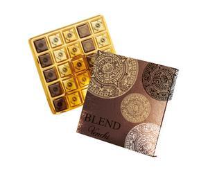 Confezione 24 cioccolatini fondenti Maxi blend