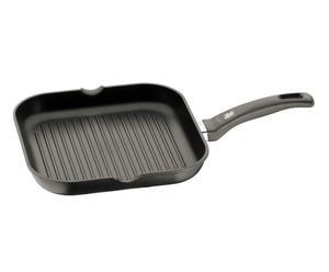 Bistecchiera in alluminio antiaderente Durit Protect Plus - 27X4X27 cm