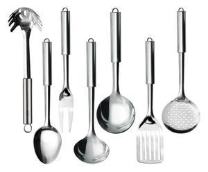 Set di mestoli da cucina in acciaio inox daily plus - 7 pezzi