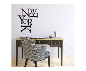 sticker in vinile new york letters - 45x55 cm
