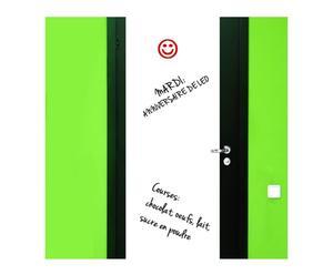 lavagna adesiva in vinile per porta whiteboard - 55x150 cm