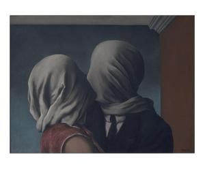 Stampa su pannello in Mdf The Lovers - 80x60 cm