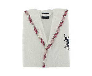 Accappatoio donna Arcata bianco S in cotone