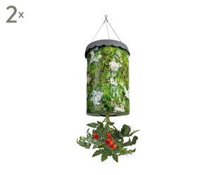 Set di 2 sacchi a sospensione per coltivare pomodori - 24x41x24 cm