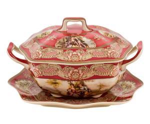zuppiera in porcellana tintoretto - 29x25 cm